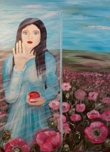 Opium oder das Schneewittchensyndrom, Akrylmalerei