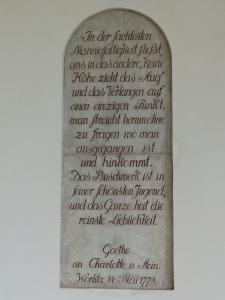 Goethes Brief Seite 2